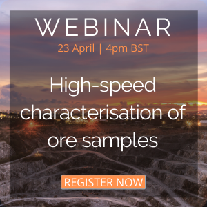 High-speed characterisation of ore samples